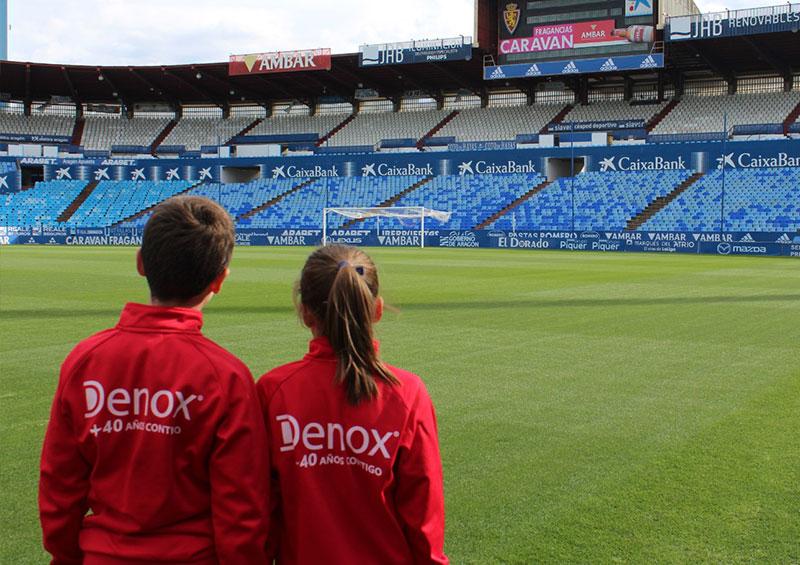 Denox con el deporte juvenil